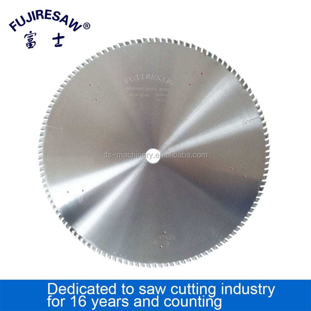 China factory Tungsten Carbide Tipped (TCT) circular saw blade for aluminium profile scoring