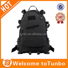 High quality black military hiking backpack