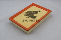 Imported wood-pulp paper air filter , OEM NO.96950990 HEBEI FACTORY