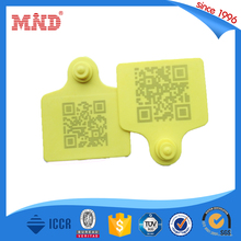 MDAT32 Programmable rfid uhf animal ear tag for cattle