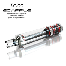 With special unique airflow design water bong ecapple tlaloc ceramic water stick wax vaporizer cheapest selling