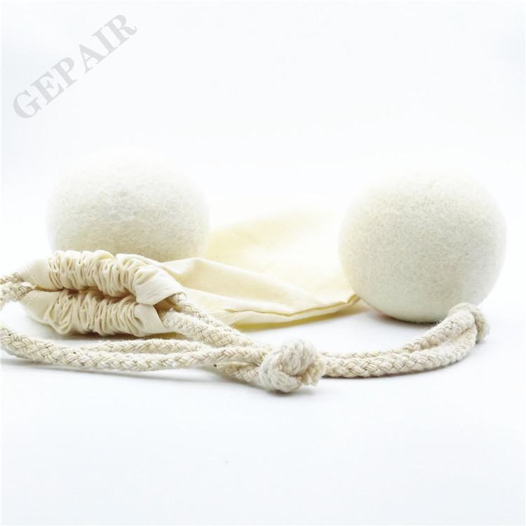 Premium handmade 100% New Zealand dryer lint balls