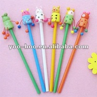 Pencil with cartoon top YHKM-01