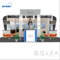 Detian Offer Advertising High Quality Standard Display Exhibition Booth/Aluminum Trade Show Portable Exhibition Booth