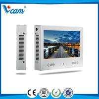 7 inch stand-alone lcd hd custom wall mount advertising monitor