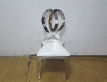 stacking stainless steel banquet chair for wedding