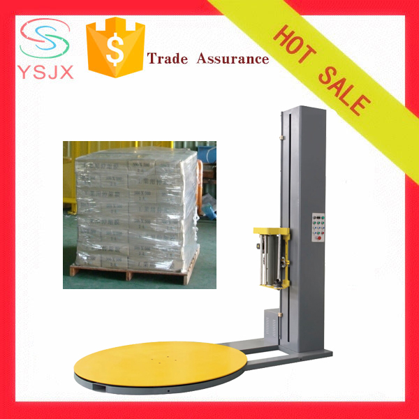 high efficiency plastic cling film stretch wrapping machine price