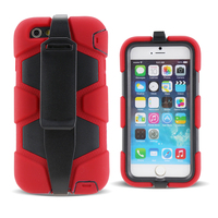 2015 Latest design shockproof drop resistance silicon thick phone case for iPhone 6