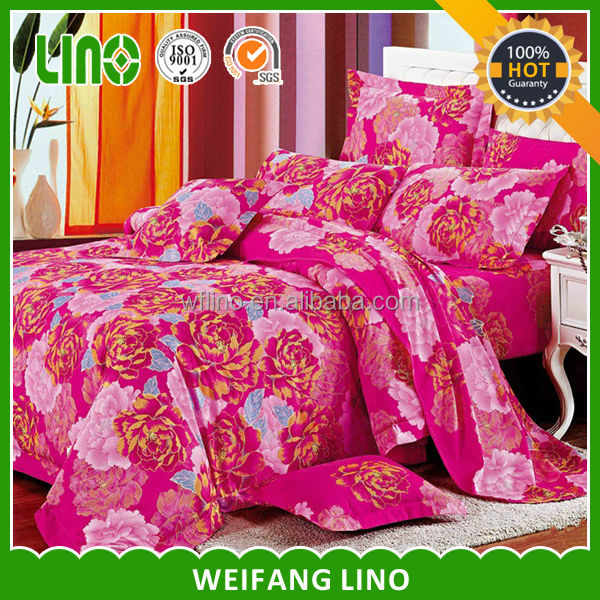romantic 100% cotton girl crib super king size home comforters bedding sets
