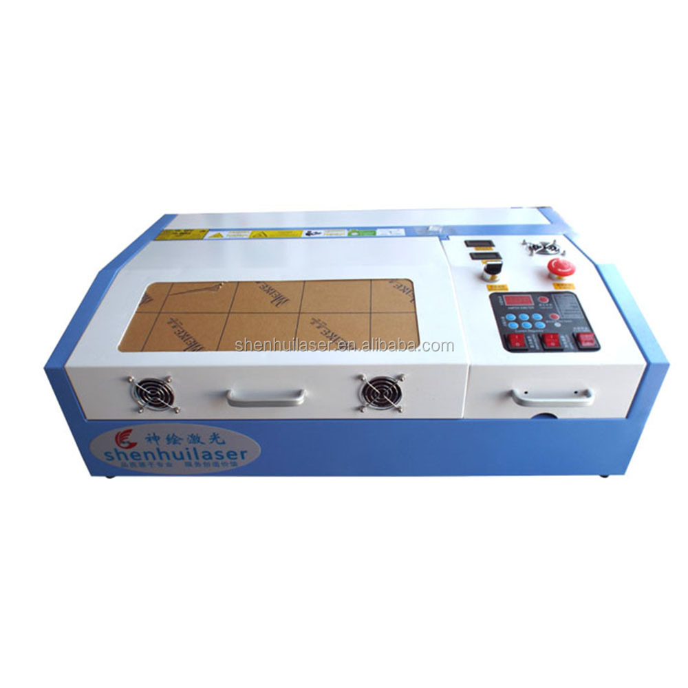 rubber stamp wood acrylic paper 40w laser engraving machine for sale