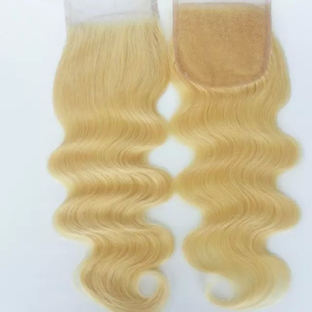 Hair Closure Frontal And Bundles Indian Remy Hair Weave Brazilian
