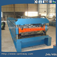 metal floor decking roll making machine