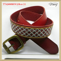 TT230009070 high quality man fashion wholesale leather belt blanks
