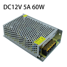 S-60-12 Power Transformer DC 12V 5A Switching Power Supply AC To DC Power Adaptor 12V 5A