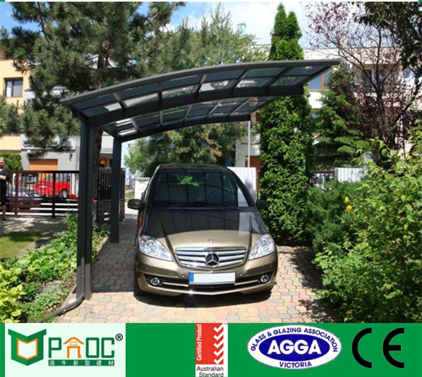 Ground Sheet waterproof cover aluminium carport polycarbonate canopy roof