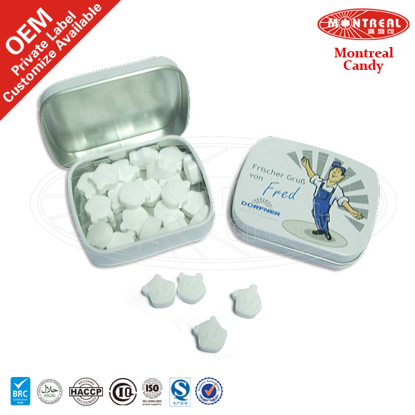 Mint candy candy tablets