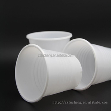 6oz hot sale white cheap disposable drinking plastic cup