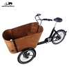 cheap cargo electric 3 wheeler cargo tricycle trike bike for factory direct sale