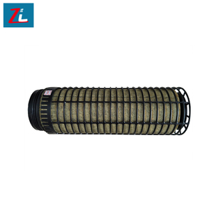 customized a 0.3 micro plastic frame cylindrical air filter frame