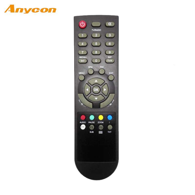 Factory Universal home application Black ir remote control for videocon tv series