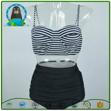 2017 New retro belt rope holding women swimwear bikini