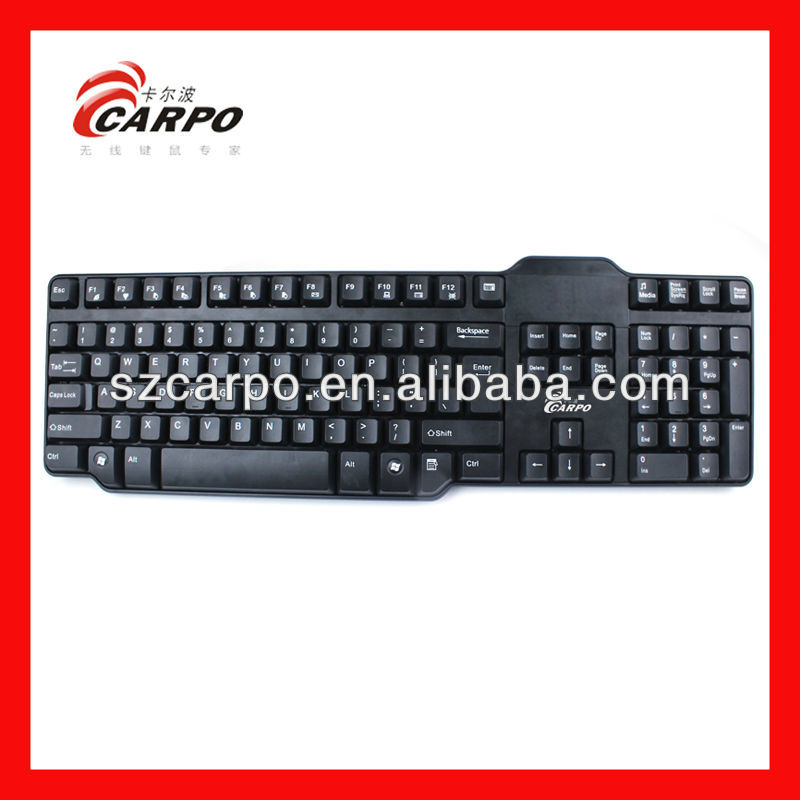 high technology 2013 new design ergonomics keyboard H100