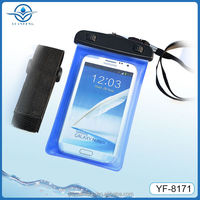 China direct factory top quality pvc waterproof cellphone bag for Apple iphones compatible brand