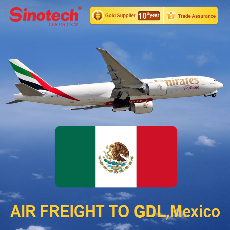 Cheap Air Freight Service From China To Mexico Guadalajara