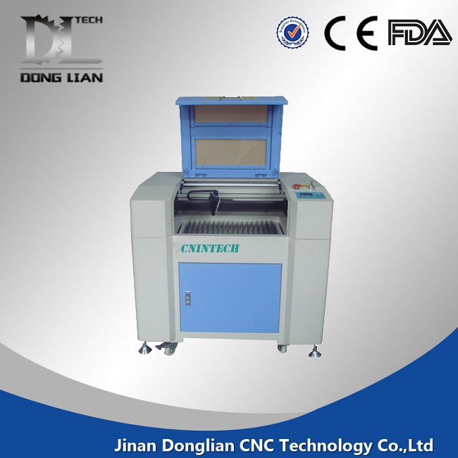jinan Donglian 6090 id card laser co2 cutting engraving machine acrylic best price