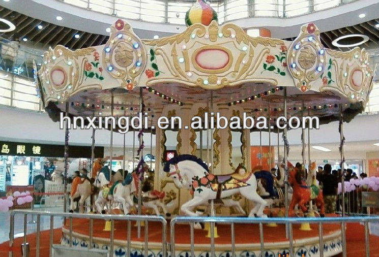 Professional Design Musical Toy Carousel Horse