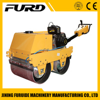 Hand Operated Roller Mini Asphalt Roller for Sale (FYLJ-S600C)