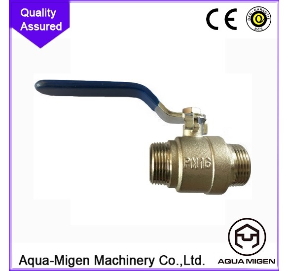 AQUA-MIGEN Lead-free copper C46500 brass ball valve MG-A1003