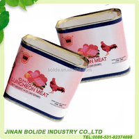 Hot Sale Halal Canned Chicken Luncheon Meat 340g With Good Price