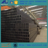 Black Iron 40*40 Alloy Steel Square Pipe Price List