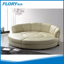 Modern furniture sectional round bed S818
