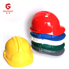 Cheap engineering industrial safety helmet construction
