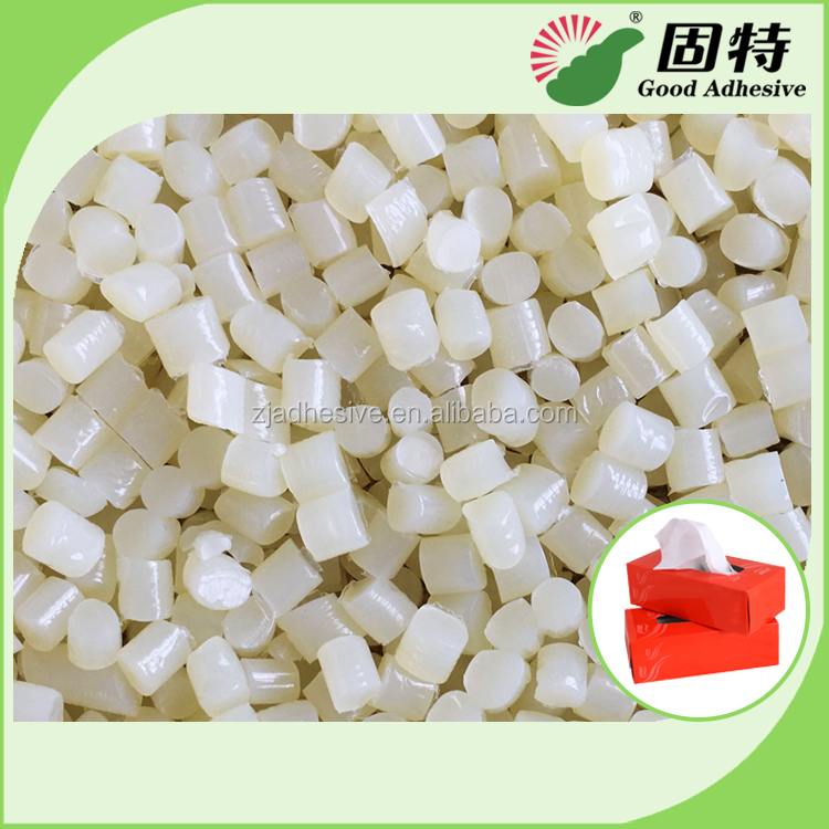 Tissue Box Sealing and Closing Adhesive in Hot Melt Adhesive
