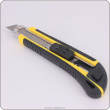 Automatic Utility Knife With Three Blades 100MMX18MMX0.5MM Blades Cutter Knives