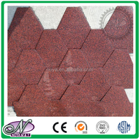 Build roof material asphalt shingles low cost colored shingles roof design with low price