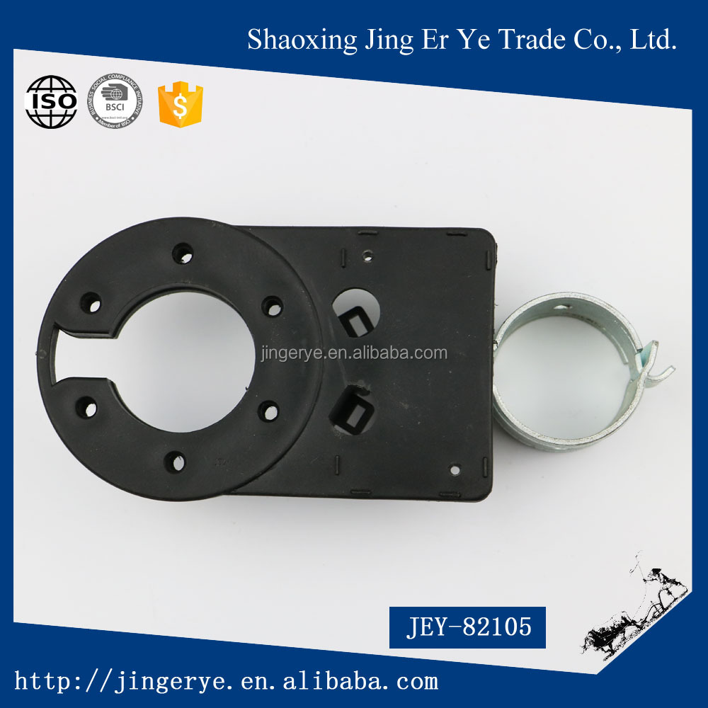 Trailer parts connector ABS material with iron round shaped