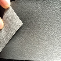 pvc artificial leather for car seats with velvet from Jiangyin Longsheng