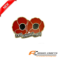 100 Years WW1 Royals Remembrance Day Poppy Lapel Pin
