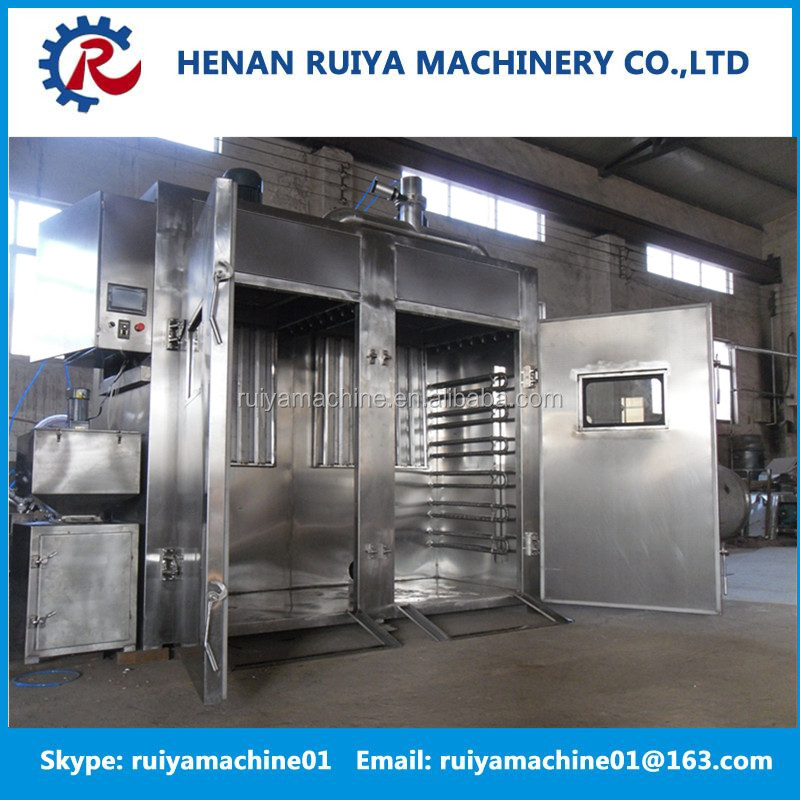 cold and hot fish smoked machine fish smoking machine fish smokehouse