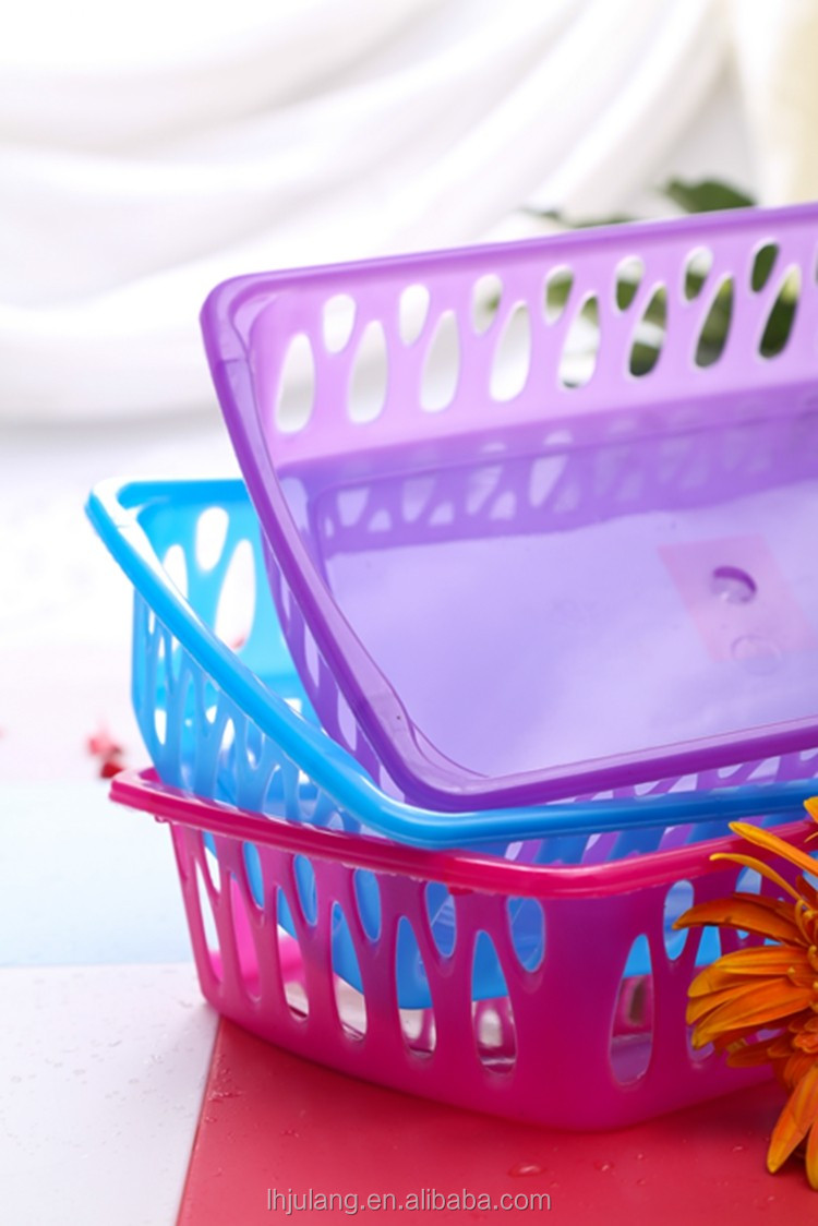 Useful BPA-Free medium size plastic washing basket/ fruit vegetable basket