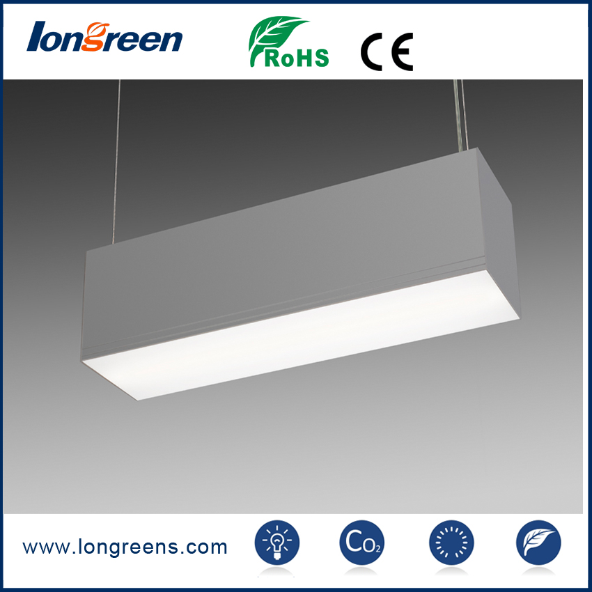 New Design 10W Indoor Suspended Linear Light, 1000Lm With 3 Years Warranty
