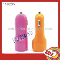 2.1A/1A Dual USB Car Charger Adapter for iPhone 5s/5C/5S/Samsung S4/LG G2/iPad Air