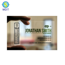 transparent business inkjet pvc photo card