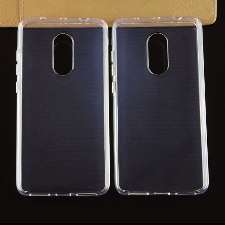 1.2mm cellphone cover tpu for Redmi Note 4X case cover , Note 4X gel case
