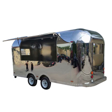 CE Approved China street mobile catering coffee truck fast food airstream trailers