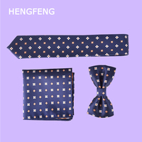Top sell Polyester silk Woven Smooth Tie Classic Man's Dot Business Wedding Ties For Men Party Fashion Casual Necktie